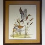 "DUCKSLinda Cullers, American32"" x 38"" framed size$1225 framed"