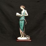 "LADY WITH A BOOK0384C17 1/2""$5955000 Limited Ed."