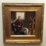 """LOUET SPINNING WHEELTodd Williams, AmericanOil on linen16"""" x 16"""" framed$2,300"""