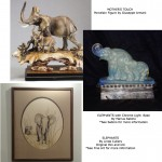MOTHER'S TOUCH:ELEPHANTS BY SABINO AND CULLERS