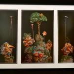 """SIX BIRD HUNTERS IN FULL CAMOUFLAGE1994James C. Christensen31"""" x 24"""" framed sizeLimited Ed. 3771/4662$575 framed"""