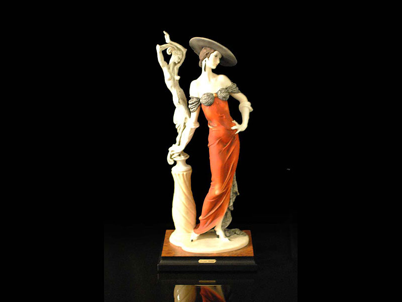 FASCINATION or LADY WITH SCULPTURE